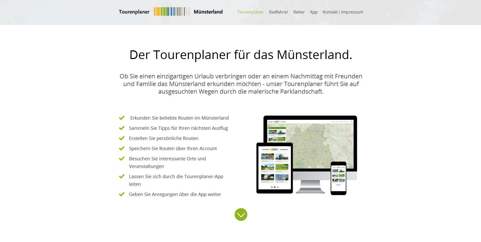 c288343552f554 Speziell für das Münsterland gibt es einen Online-Tourenplaner für Reiter  und Radfahrer. Ob Themenrouten oder eigene Touren - mit dem Tourenplaner ...